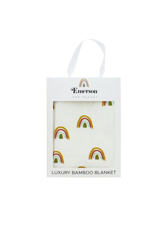 Bamboo Rainbow Blanket