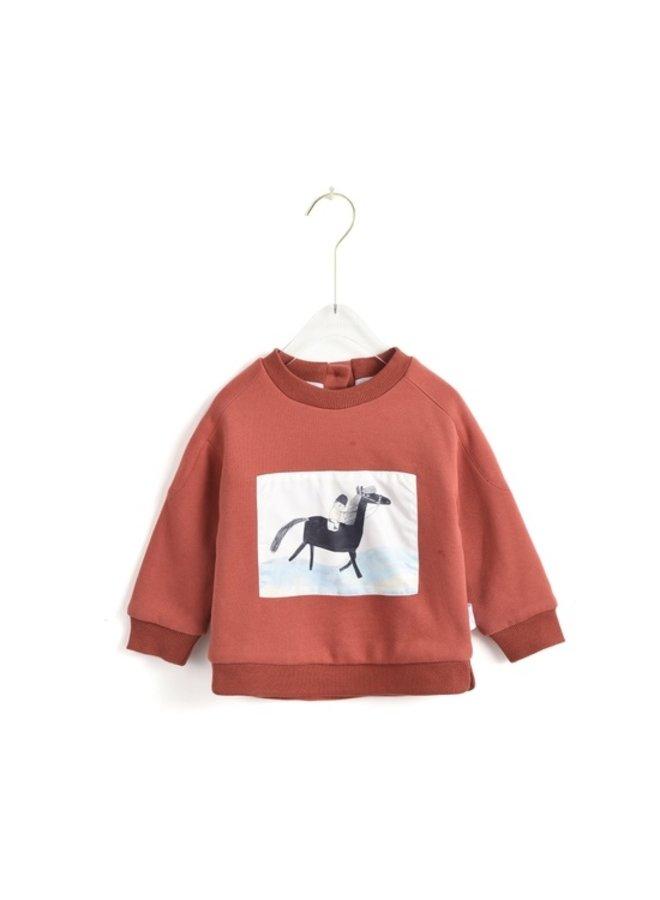 Horse Drawing Sweatshirt