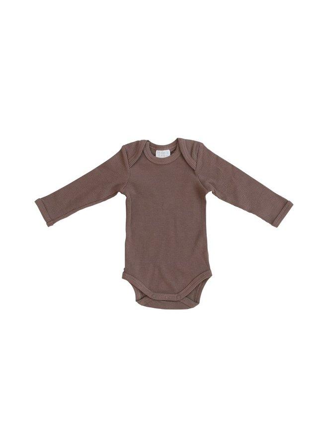 Organic Cotton Ribbed Bodysuit