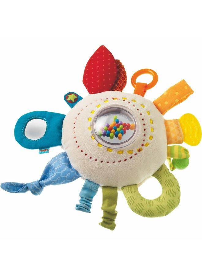 Cuddly Rainbow Round Teether