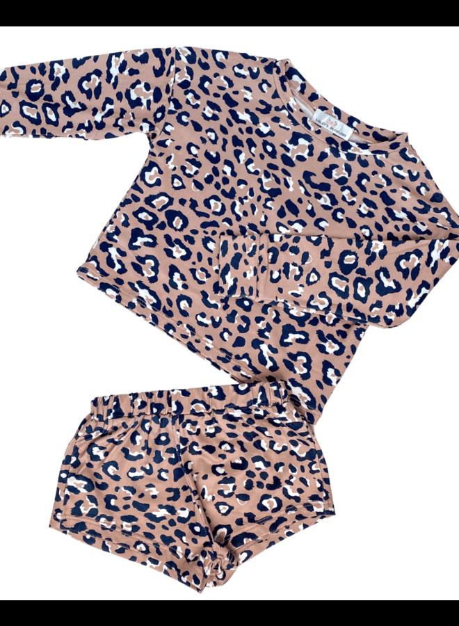 2-Piece Leopard Leisure Set