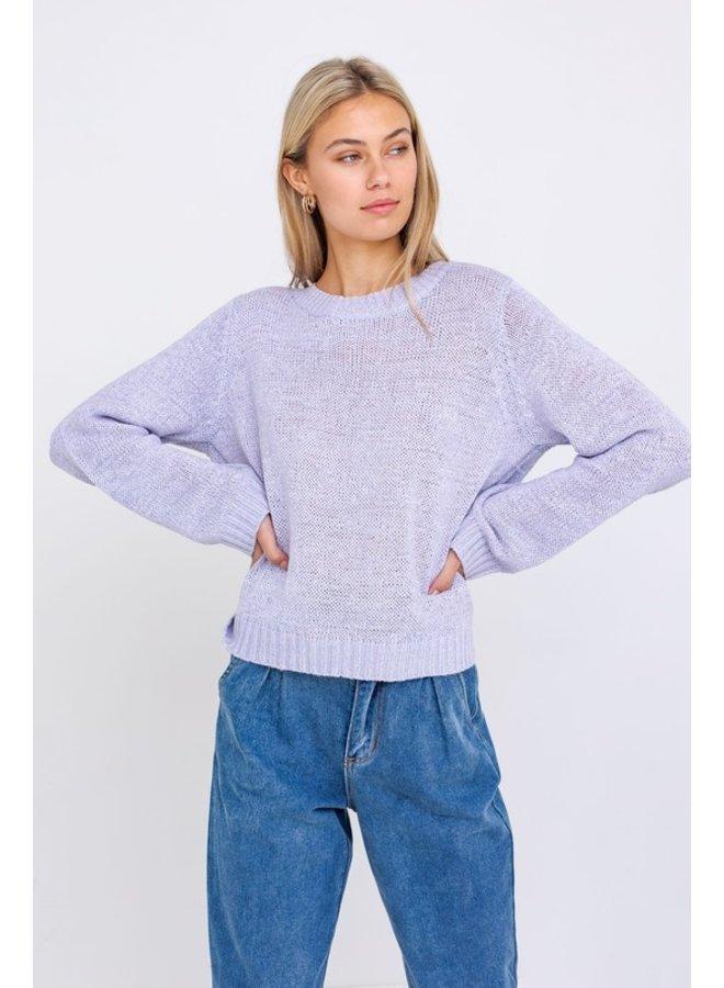 Tie Back Sweater