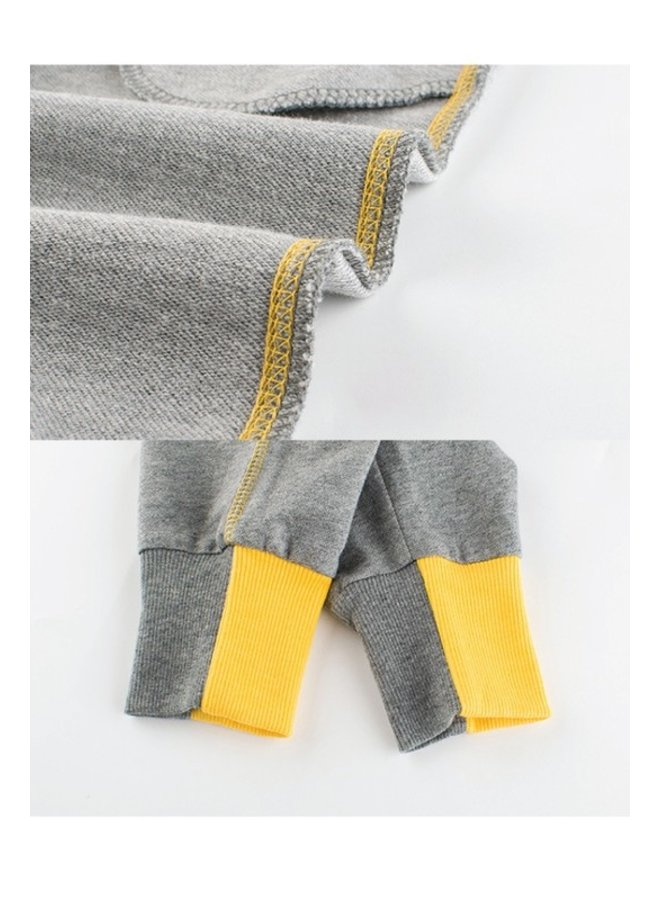Yellow Trim Joggers