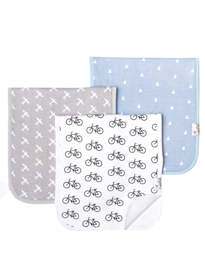 3-Pack Burp Cloth Set
