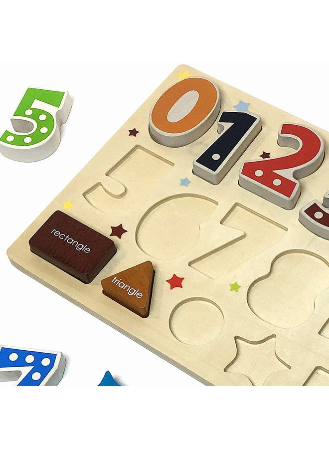Number & Shapes Puzzle