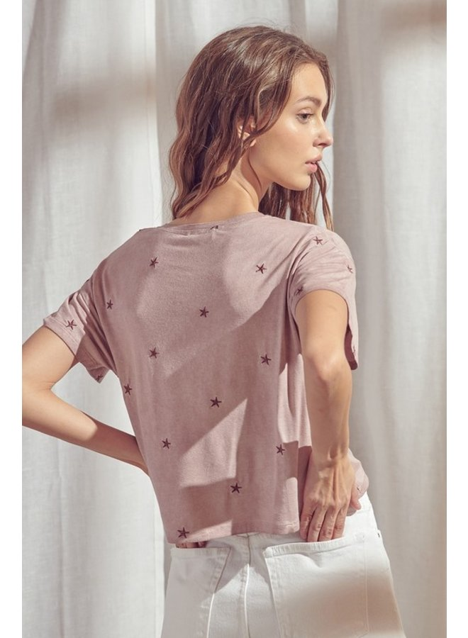 Star Cropped Tee