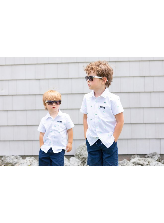 Go Fish Button-Up