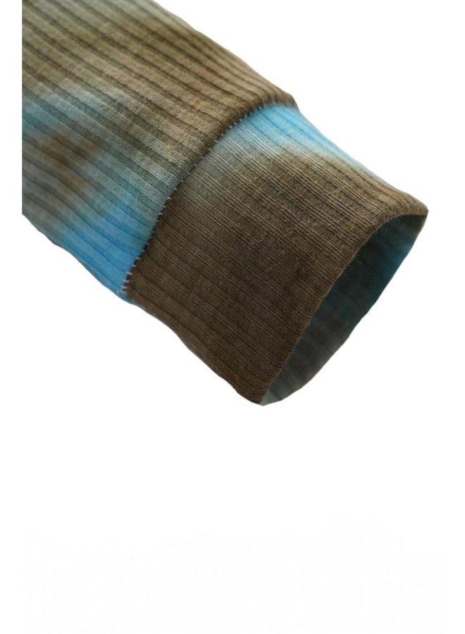 Brown Tie Dye Onesie