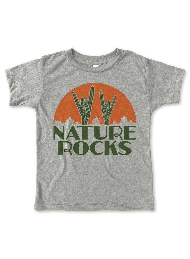 Nature Rocks Tee