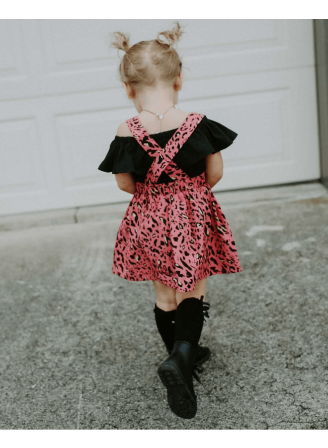 Leopard Suspender Skirt