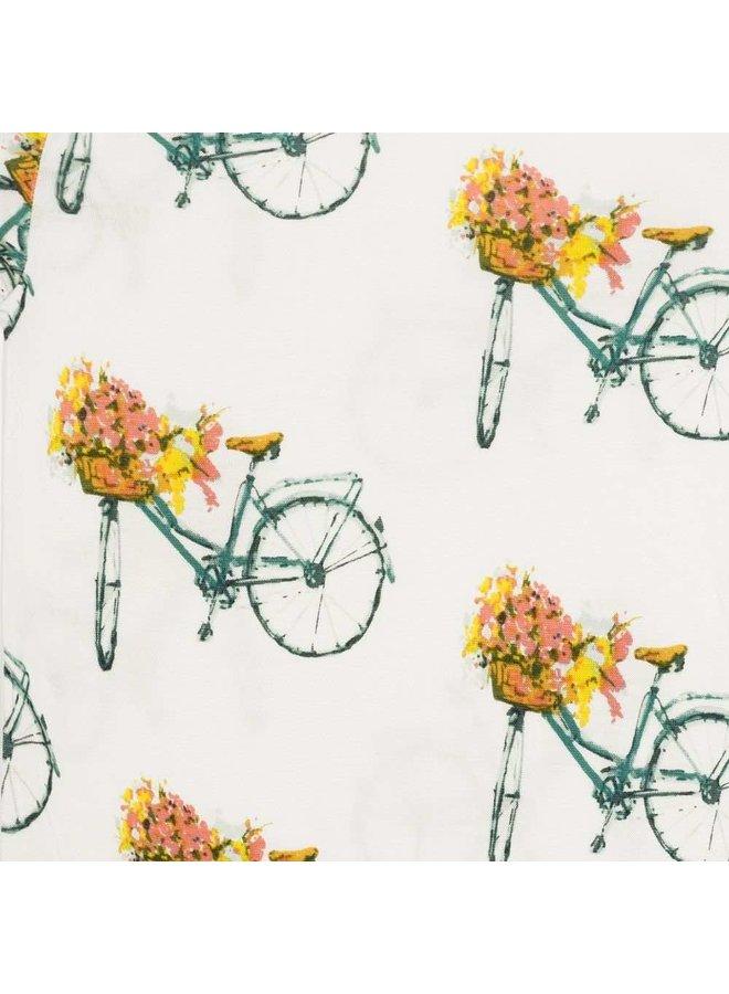 Flower Bicycle Onesie