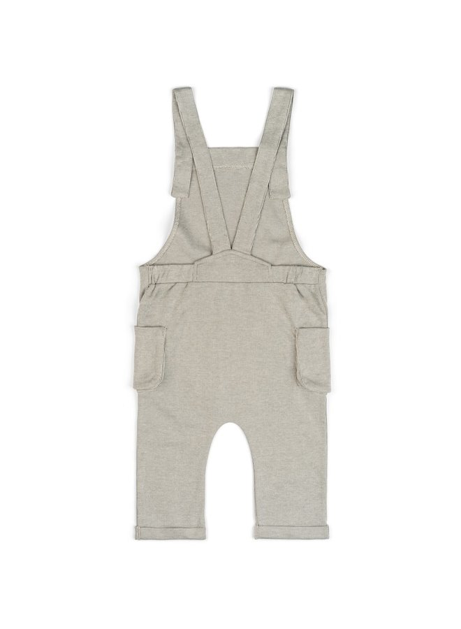 Grey Pinstripe Overall