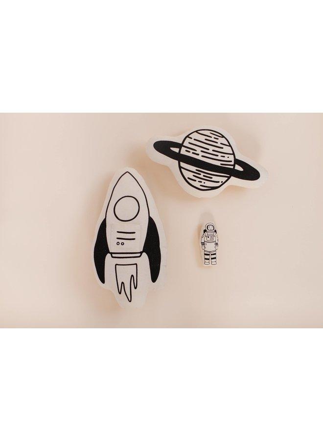 Rocket + Astronaut Pillow