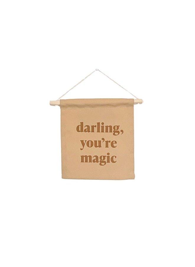 Darling, You're Magic Hang Sign