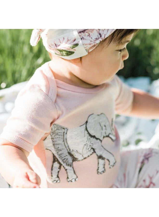 Applique Elephant Onesie