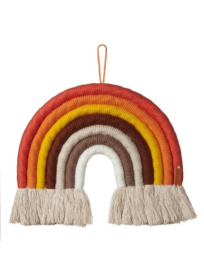 Macrame Rainbow Wall Decor