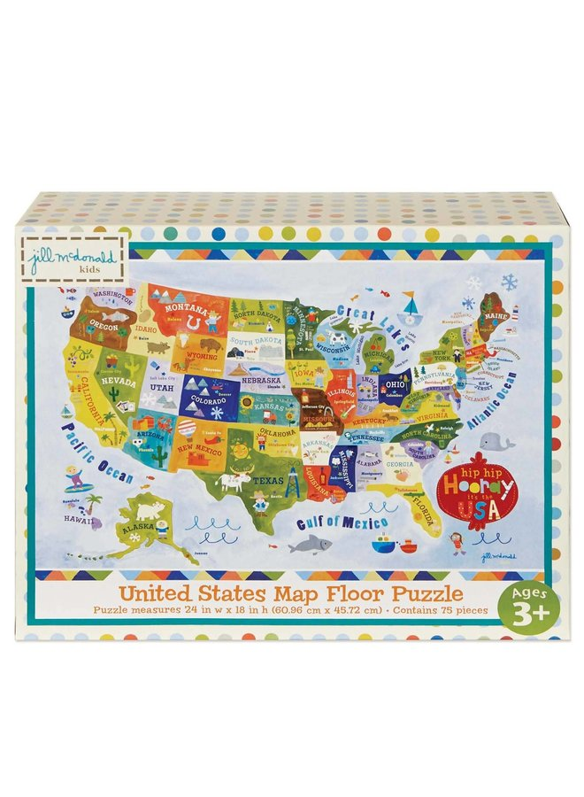 """""""Hip Hip Hooray, It's the USA"""" Puzzle"""