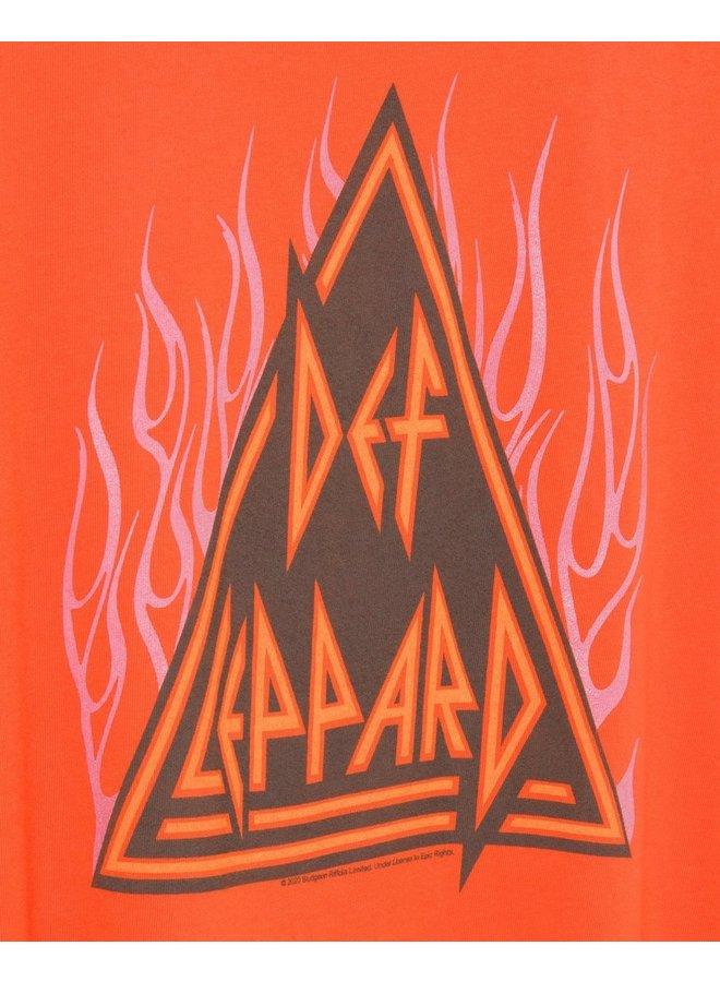 Def Leppard Flames Tee