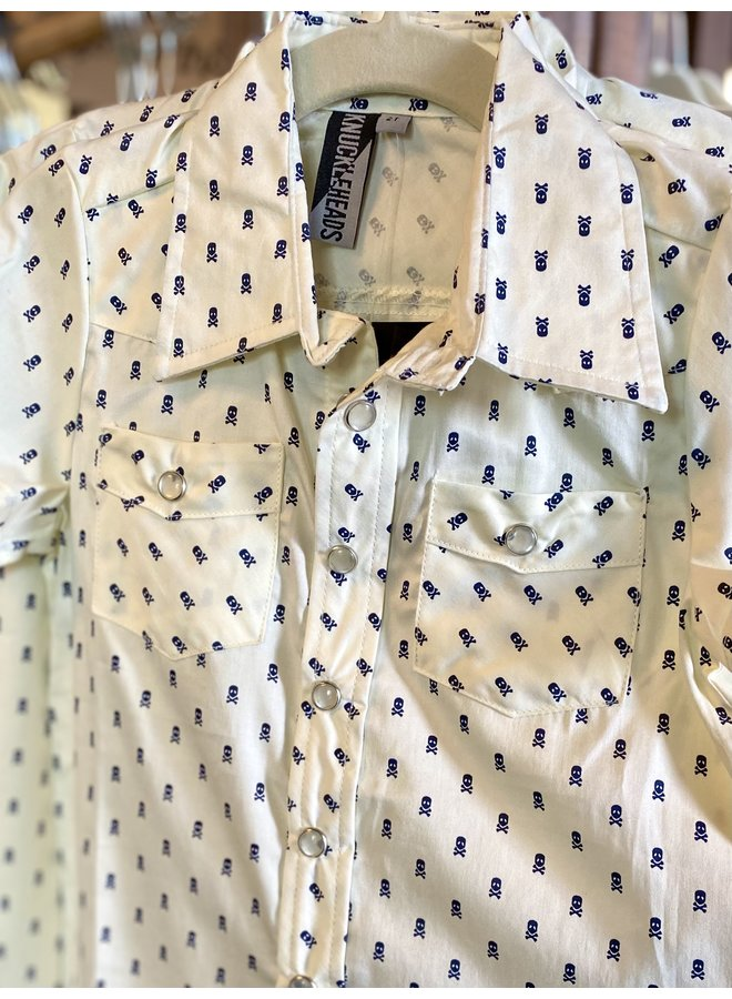 Skull Button-Up