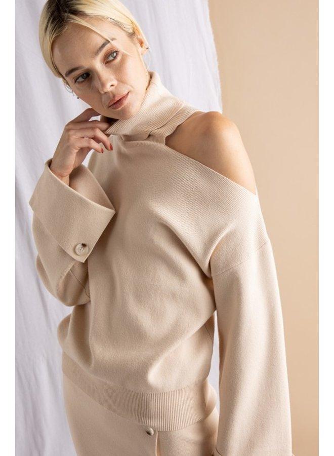 Knit Sweater & Skirt Set