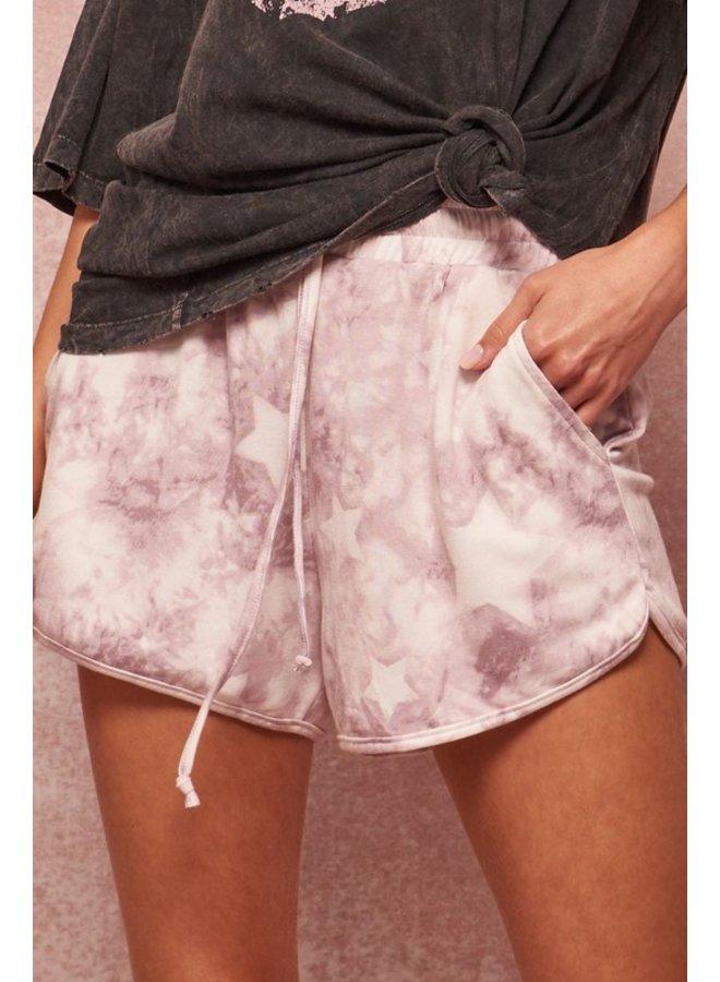 Star Tie Dye Shorts