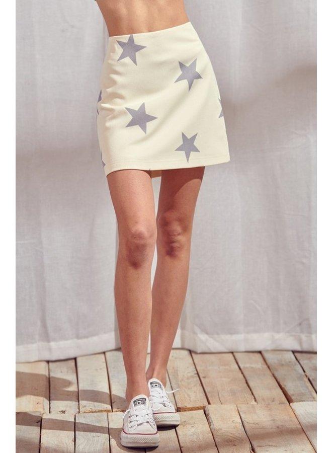Star Mini Skirt