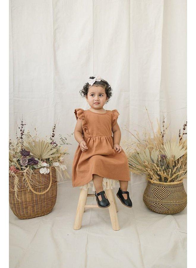 Cotton Ruffle Dress