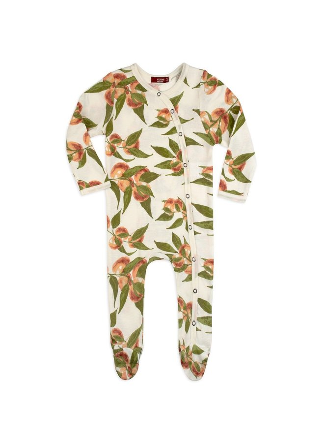 Peaches Footed Romper