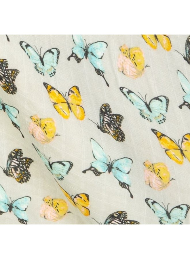 Butterfly Bamboo Swaddle
