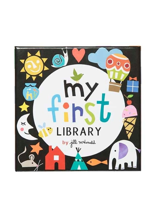 My First Library Board Book Set