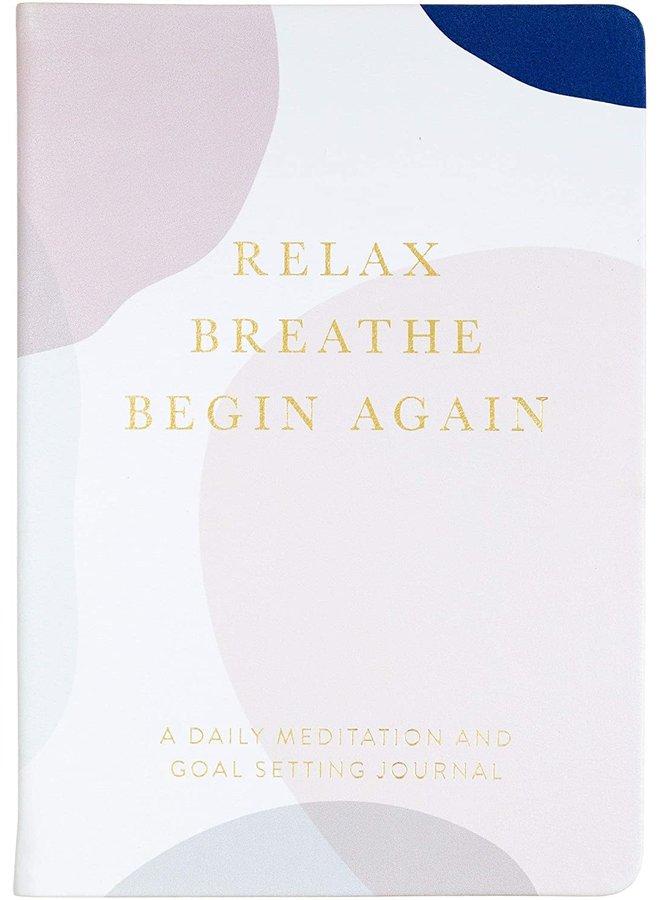 Relax & Breathe Meditation Journal