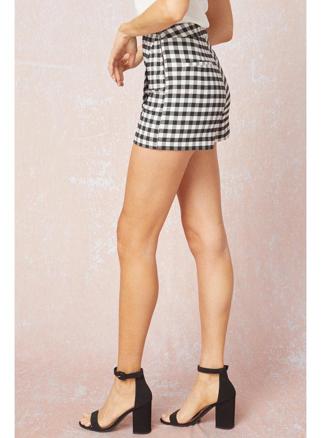 Checkered Skort