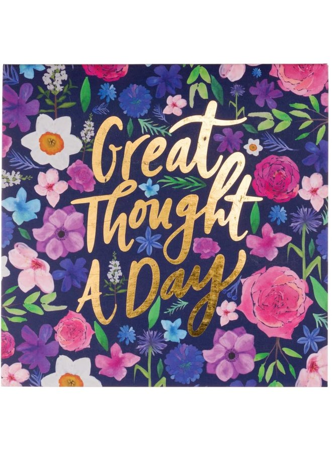 Great Thought a Day Notepad