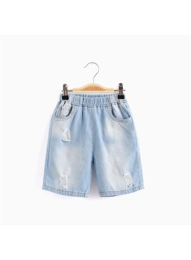5 Pocket Denim Shorts