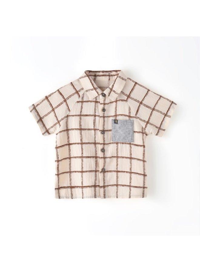 Plaid Pocket Polo