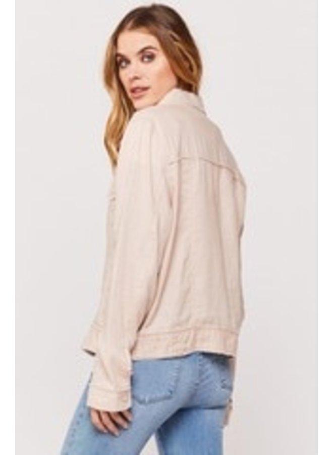 Lightweight Button Up Jacket