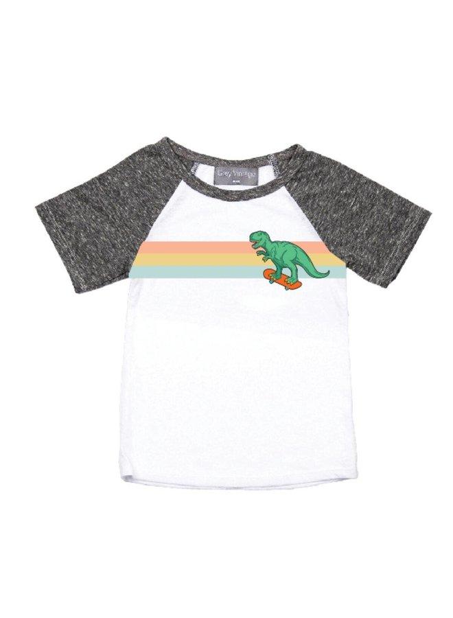 Skating Dino Tee