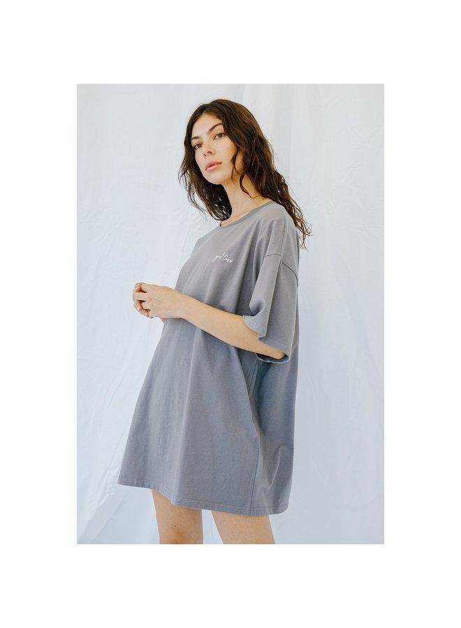 """""""Good Love' T-shirt Dress"""