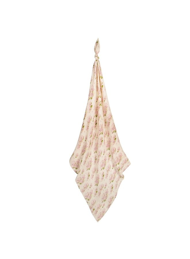 Bamboo Water Lily Swaddle
