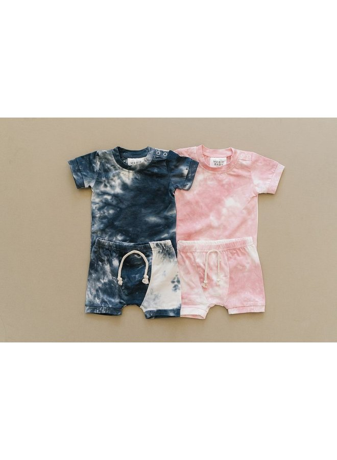 Navy Tie Dye 2-Piece Set