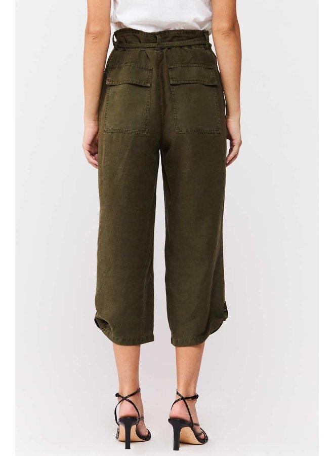 Wide Leg Crop Pant