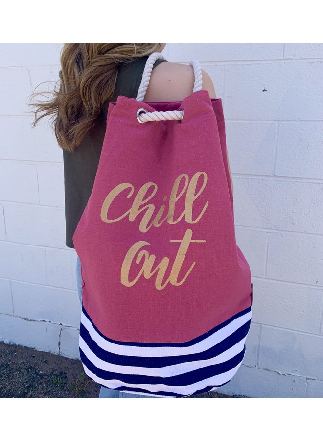 """""""Chill Out"""" Insulated Cooler Tote"""