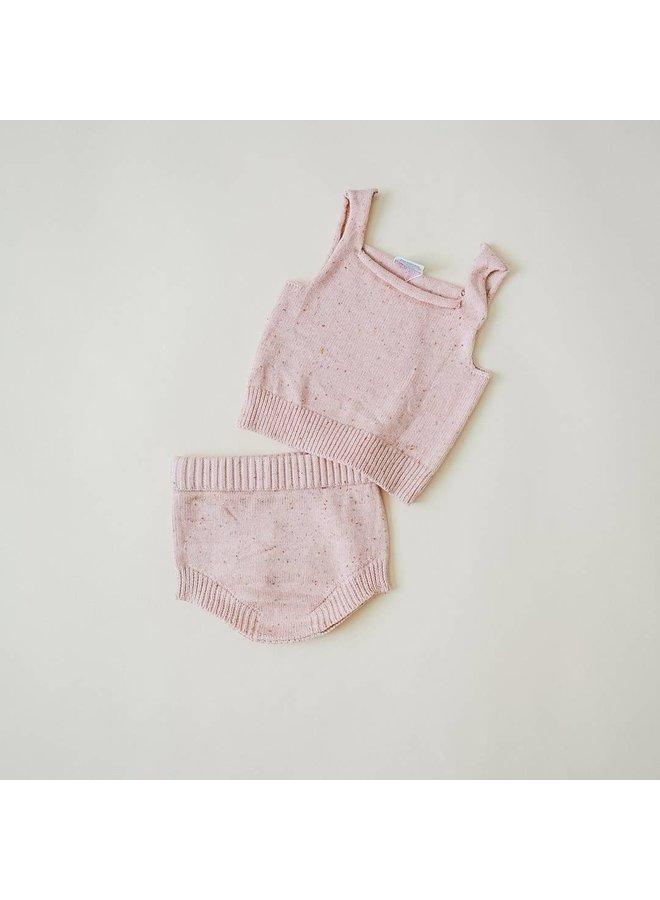 Speckled Knit Bloomer