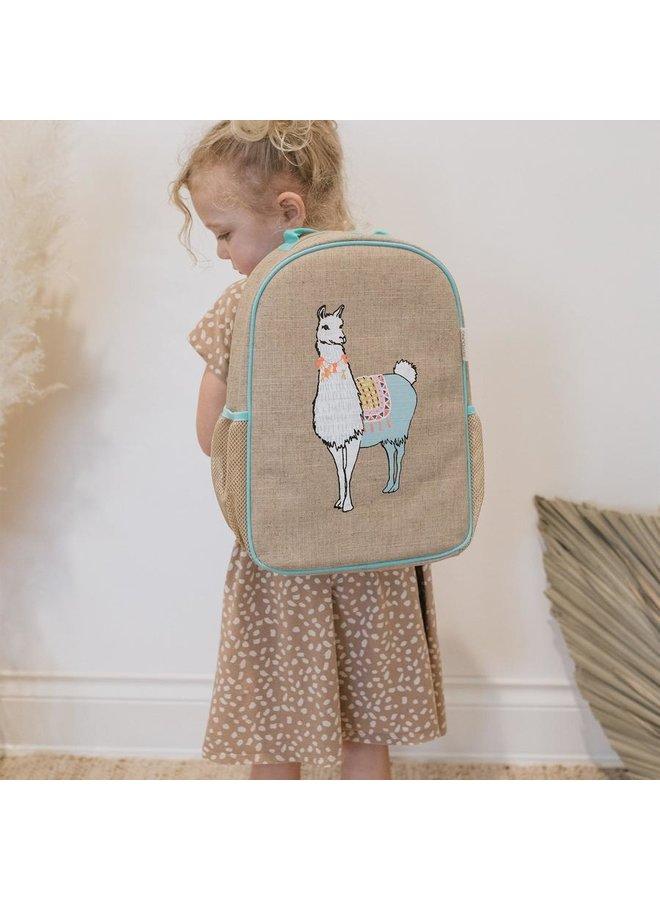 Llama Toddler Backpack