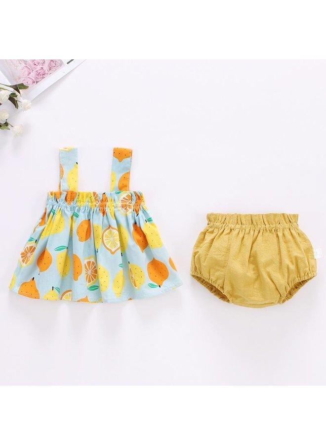 Fruit Top & Short Set