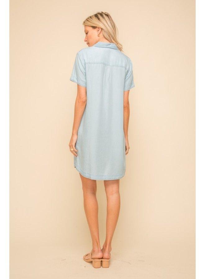 Tencel Shirt Dress