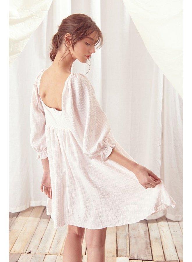 Stripped Babydoll Dress
