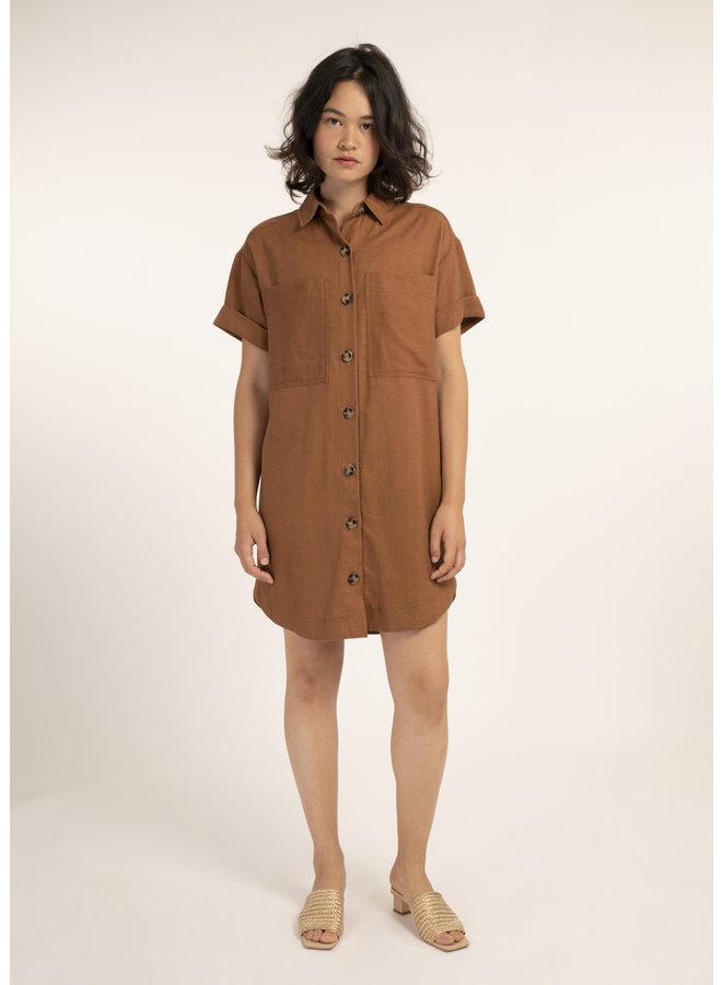 Alea Button-Up Dress