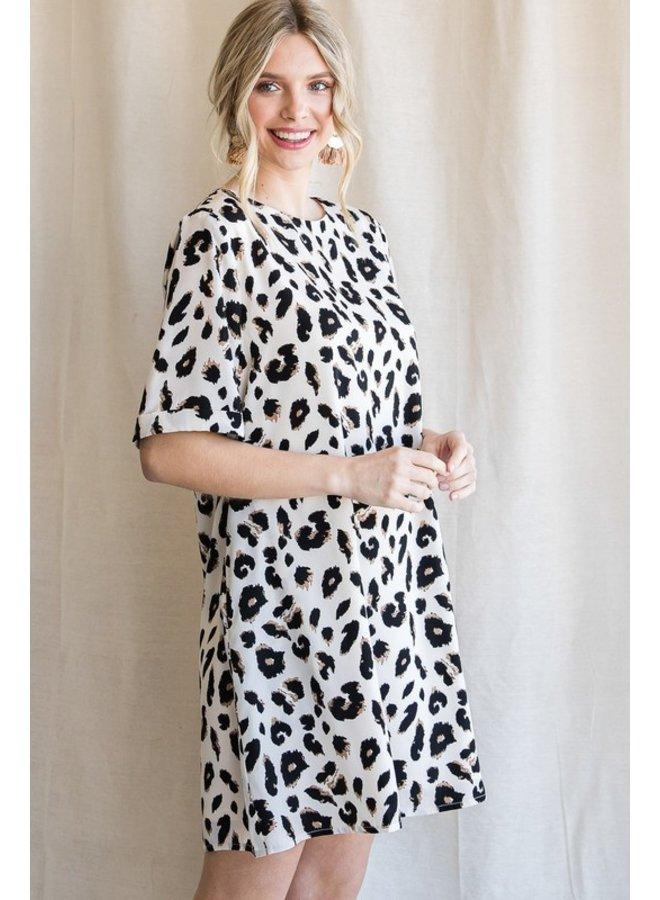 Leopard Shift Dress