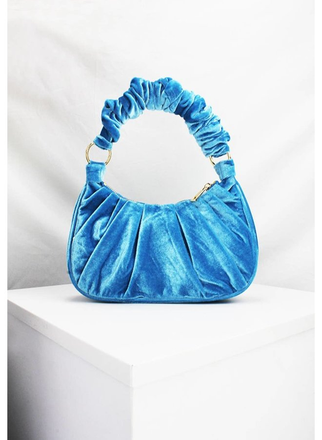 Bella Velvet Shoulder Bag